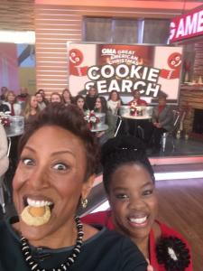 Robin Roberts loved the Banana Pudding Cookies!